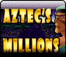 Play slots games like Aztec's Millions and win progressive jackpots